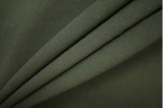 Костюмная шерсть-стрейч темно-зеленая PRT-G6 05091910