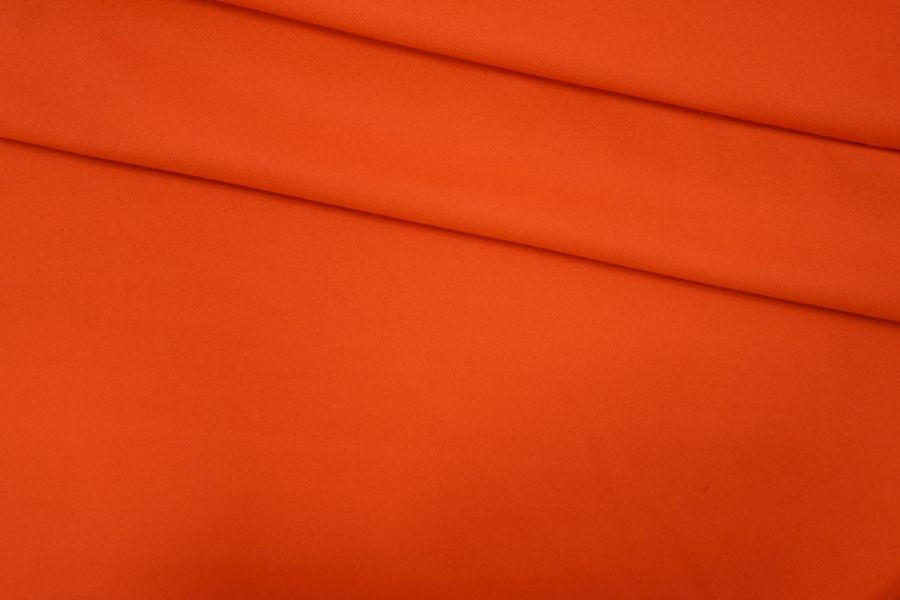 ОТРЕЗ 1,6 М Сукно шерстяное ярко-морковное PRT-F4 05091915-2