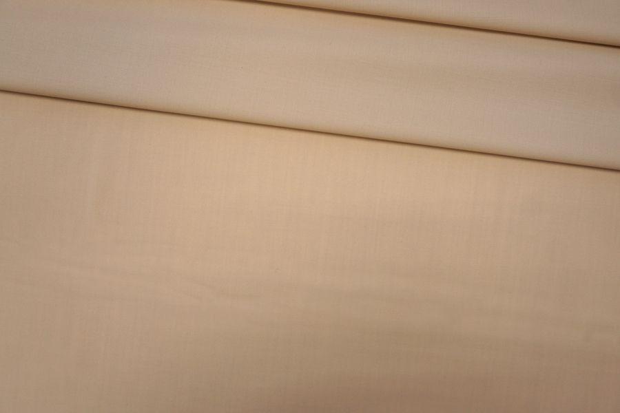 Тонкая костюмно-плательная шерсть бежевая PRT-G2 05091932