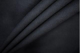 Костюмно-плательная шерстяная диагональ черная PRT-A7 06091903