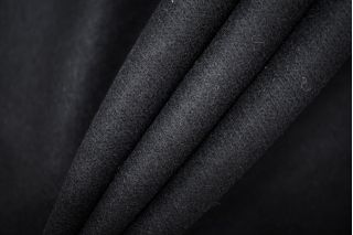 Трикотаж шерстяной черный PRT-W6 06091920