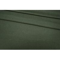 Костюмная шерсть темно-зеленая PRT-G5 06091921
