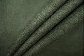 Костюмная шерсть темно-зеленая PRT-W7 06091921