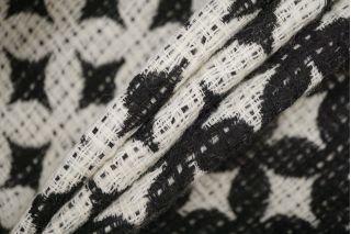 Пальтовая шерсть черно-белая PRT-E7 06091924