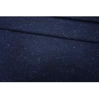 Пальтовая шерсть темно-синяя в крапинку PRT-F6 06091927