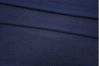 Костюмная шерсть двусторонняя сине-коричневая PRT-I2 08091926