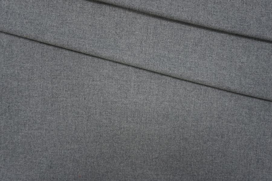 Шерсть плательная серая елочка PRT-G2 09091911