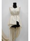 Хлопок костюмно-плательный молочно-белый PRT-C4 09091916