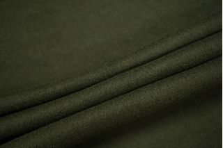 Трикотаж шерстяной плотный темно-зеленый PRT-D7 10091902