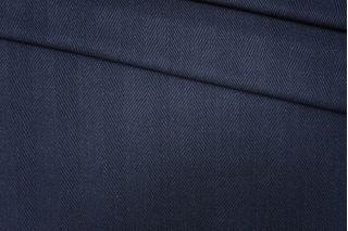 Костюмная шерсть рельефная темно-синяя PRT-E7 10091906