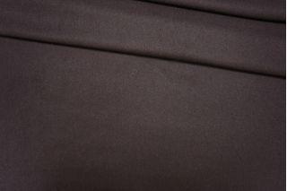 ОТРЕЗ 2,3 М Костюмная шерстяная фланель темно-коричневая PRT-G5 13081904-1