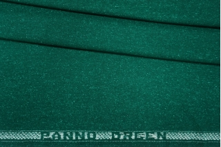 ОТРЕЗ 2.75 М Твид насыщенный изумруд шерстяной PRT-Т6 13081906-1