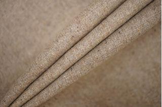 Твид грязновато-бежевый в крапинку шерстяной PRT-H2 13081910