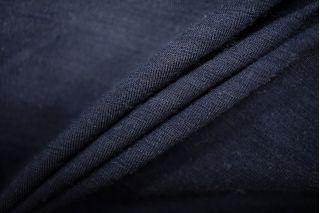 Тонкий трикотаж шерстяной темно-синий PRT-W3 23081903