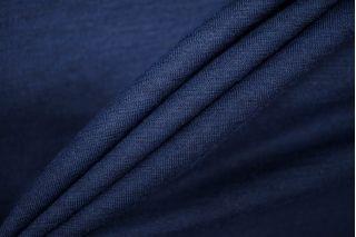 Тонкий трикотаж шерстяной темно-синий PRT-D3 23081910