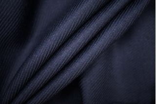 Костюмная шерсть темно-синяя диагональ PRT-E7 25061913
