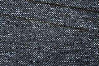 Шанель букле шерстяная серо-черная PRT-Н7 25061915