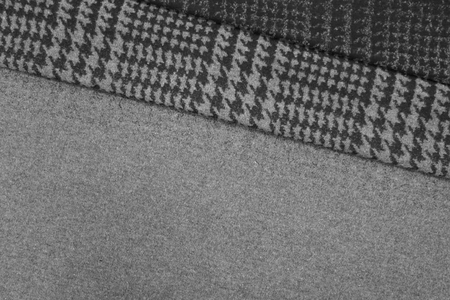 Костюмно-пальтовая шерсть гусиная лапка КУПОН PRT-T4 15111913