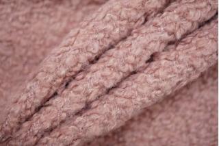 Шерсть букле светлая припыленно-розовая PRT-T2 15111917