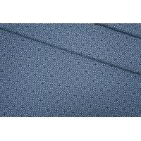 Хлопок костюмно-плательный сине-голубой PRT-B4 15111935