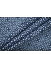 Хлопок костюмно-плательный сине-голубой PRT-K5 15111935