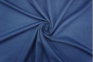 Джерси тонкий вискозный синий PRT-D5 10081911