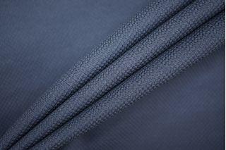 Трикотаж фактурный вискозный серо-синий PRT-D7 10081924