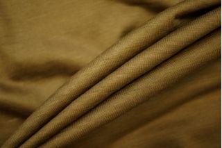 Тонкий трикотаж шерстяной золотисто-болотный PRT-L2 23081907