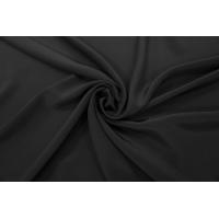 Крепдешин тонкий шелковый черный PRT-С5 03111904