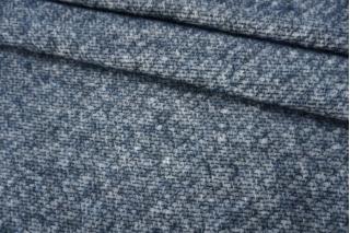Шерсть бело-синяя с мохером PRT-I7 14111929