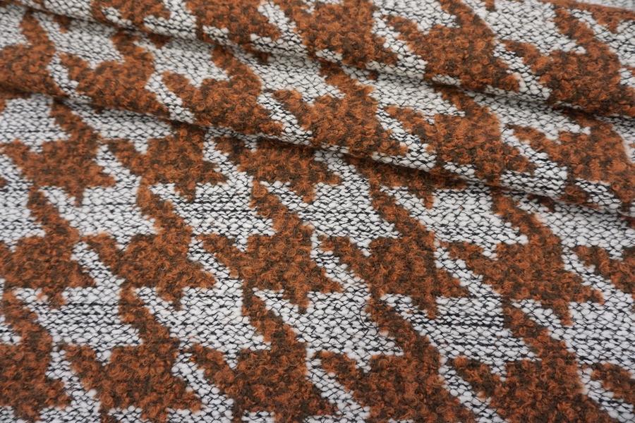 Шерстяная шанель гусиная лапкаPRT-H7 14111931