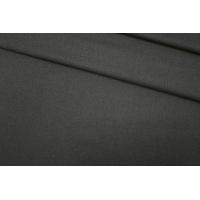 ОТРЕЗ 2,45 М Костюмная фланель шерстяная темно-болотная PRT-(31)- 15111907-1