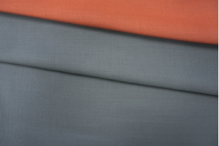 Шерсть костюмная двусторонняя серо-рыжая PRT-F7 15111910