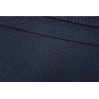 Трикотаж шерстяной темно-синий в полоску Donna Karan PRT-D5 23101909