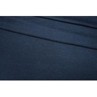 ОТРЕЗ 1,4 М Трикотаж шерстяной темно-синий Donna Karan PRT-E6 23101910-1