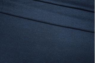 Трикотаж шерстяной темно-синий Donna Karan PRT-E6 23101910