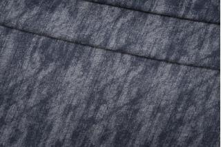 Трикотаж шерстяной сине-серый Donna Karan PRT-E7 23101911