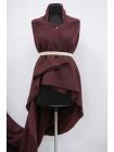 Шерстяной трикотаж темно-вишневый Donna Karan PRT-E7 23101913