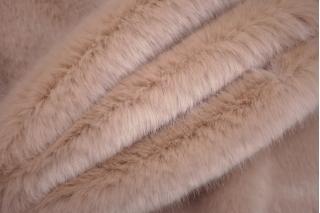 Эко-мех Dolce & Gabbana бежевый нюд PRT-F2  24101908
