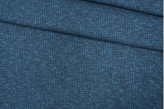 Шерстяной трикотаж серо-голубой PRT- E6 28101909