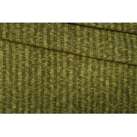 Трикотаж шерстяной коричнево-зеленый в елочку PRT-X6 28101910