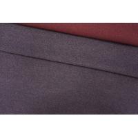 Пальтовая шерсть двусторонняя серо-винная PRT-E2 28101911