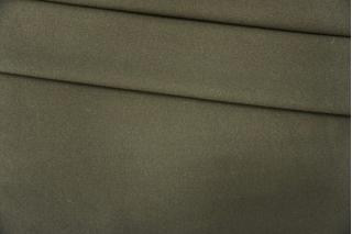 Пальтовый шерстяной велюр цвета хаки PRT-F6 28101925