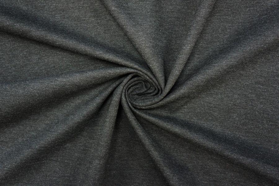 ОТРЕЗ 2,2 М Джерси поливискозный черно-серый PRT-(57)- 10081912-2