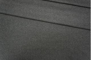 Трикотаж поливискозный елочка черно-серый PRT-L5 10081918