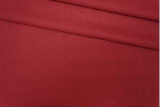 Костюмная шерстяная фланель темно-красная PRT-F3 13081916