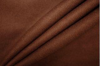 Костюмная шерстяная фланель темно-коричневая PRT-G5 13081917
