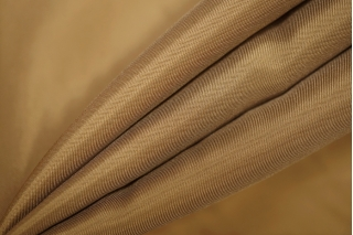 Подкладочная вискоза-стрейч золотисто-коричневая PRT-A6 03111909