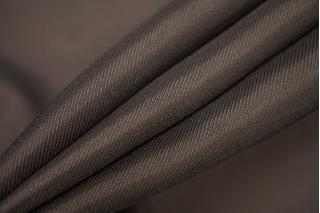 Подкладочная вискоза-стрейч темно-коричневая PRT-A6 03111910