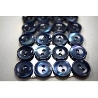 Пуговица перламутр синяя 12 мм PRT 09012003